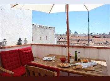 EasyPiso ES - Piso luminoso y amplio con terraza en Malasaña - Centro Ciudad, Madrid - €550