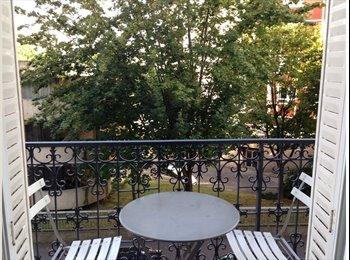 Appartager FR - chambre double dans appartement meublé au calme - 13ème Arrondissement, Paris - Ile De France - €950