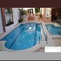 CompartoDepa MX rento hab.zona exclusiva de cancun,todos los serv. - Cancún, Cancún - MX$ 4200 por Mes - Foto 1
