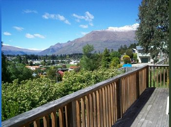 NZ - CENTRAL QUEENSTOWN - Flatmates wanted + Dbl, Twn - Queenstown, Queenstown-Lakes - $433