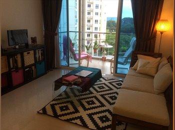 EasyRoommate SG - Gorgeous Condo Common Room 25mins bus to CBD - Bedok, Singapore - $1200