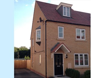 EasyRoommate UK - Double and Single Room - Bottisham, East Cambridgeshire - £400