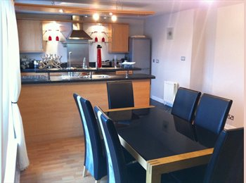 EasyRoommate UK - Lovely 3 bed flat in great location - Aberdeen City, Aberdeen - £477