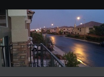 EasyRoommate US - All Stone Tile Furnished MBR or Normal room avail. - Nevada Trails, Las Vegas - $475