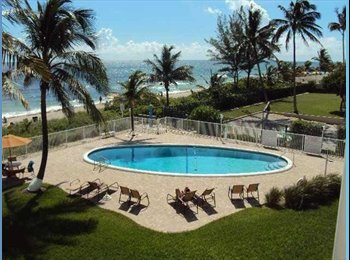 EasyRoommate US - STUDIO RENT APARTMENT SHARE - Hallandale Beach, Ft Lauderdale Area - $400