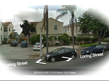 EasyRoommate US - BEACH Inspired Cottage & ZEN Lifestyle - Pacific Beach, San Diego - $1025