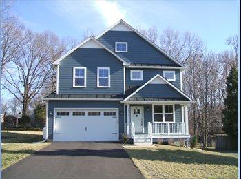EasyRoommate US - Share half of a brand-new solar home, plus garage - Alexandria, Alexandria - $1600
