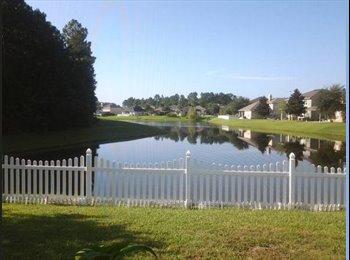 EasyRoommate US - NEED ROOMMATE FURNISHED ROOM LAKEFRONT HOME - Southeast Jacksonville, Jacksonville - $1200