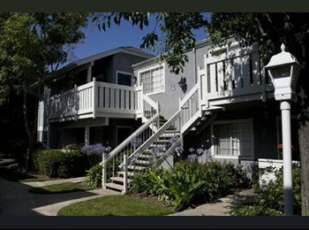EasyRoommate US - Master Bedroom w/ communal living room and kitchen - $868  - Costa Mesa, Orange County - $868