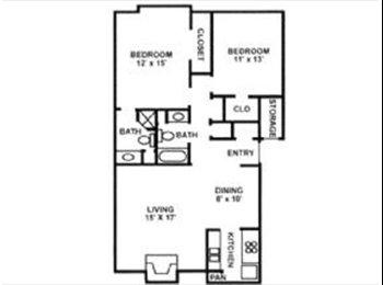 EasyRoommate US - Room-mate to share 2bdrm 2ba apartment - Pulaskia, Little Rock - $380