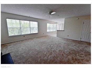 EasyRoommate US - 1 bedroom private bathroom with a deck - Witchduck Point and the Oceanfront, Virginia Beach - $750