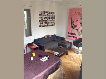Appartager FR - colocation tranquilo-sympatho-bien placée - 9ème Arrondissement, Paris - Ile De France - €810