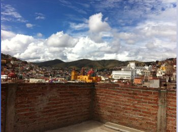 CompartoDepa MX - Room to rent in a big house central Guanajuato - Guanajuato, Guanajuato - MX$3000