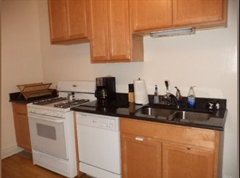 Roommate needed for nice, big 2-bed one block from