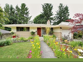 EasyRoommate US - 2 rooms in nice West Seattle 4-bd - West Seattle, Seattle - $712