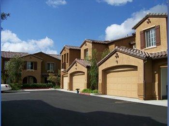 EasyRoommate US -  Room for rent + private bath W/ garage 3B2.5B - Carmel Valley, San Diego - $1200