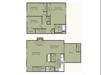 EasyRoommate US - woodbridge 3dr townhouse~furniture as gifts - Bloomington, Bloomington - $1056