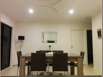 Rooms to rent in a furnished new build