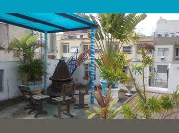 EasyQuarto BR - apt for rent per bedroom one contract. - Copacabana, Rio de Janeiro (Capital) - R$850