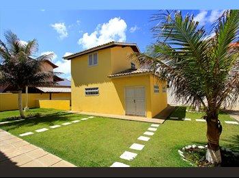 EasyQuarto BR - Aluguel de quarto - em frente à Praia das Dunas - Braga, Região dos Lagos - R$3033