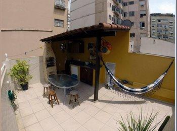 EasyQuarto BR - 2 Quartos em Copacabana - Rio de Janeiro (Capital), Rio de Janeiro (Capital) - R$1300