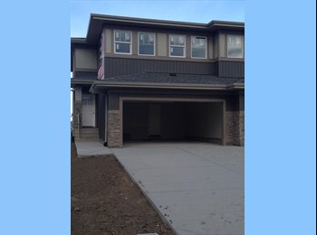 EasyRoommate CA - Roommate Wanted for BRAND NEW Duplex - South West, Edmonton - $800