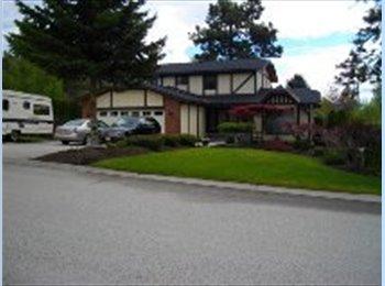 EasyRoommate CA - 2,200 sq. ft. furnished up-scale house - Kelowna, Thompson Okanagan - $1200