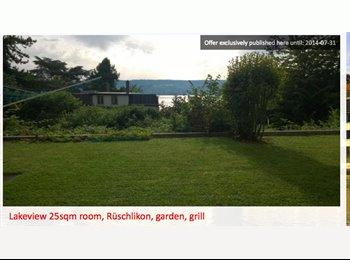 Room in Zurich - Lake view, Garden, Grill!
