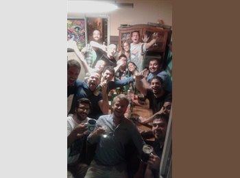 CompartoDepto CL - Pieza grande para dos personas Bellavista - Recoleta, Santiago de Chile - CH$*