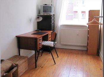 EasyWG DE - Schönes Teilmöbliertes Zimmer 9qm in Hamburg Winte - Winterhude, Hamburg - €280