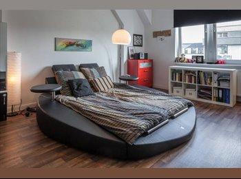 EasyWG DE - 25qm Stilvolles, modernes WG Zimmer in 140 Wohnung - Wiesbaden, Wiesbaden - €380