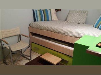 Compartir habitación y zonas comunes
