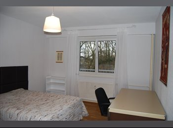 chambre spacieuse dans  appartement meublé