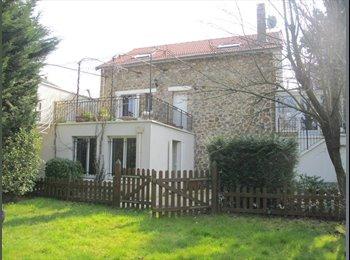 Appartager FR - Coloc conviviale dans grande maison avec jardin - Villemomble, Paris - Ile De France - €500
