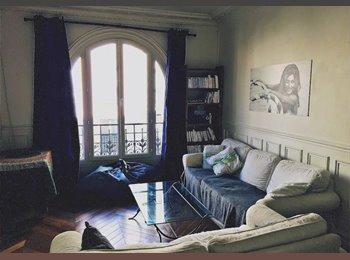Appartager FR - Chambre dans appartement 63M2 (Coloc 2 pers.) - 17ème Arrondissement, Paris - Ile De France - €880