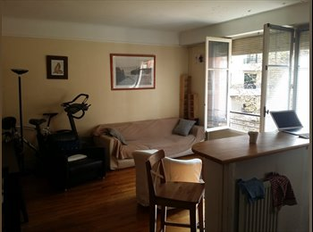 Appartager FR - Practical and relaxed apartment for fun cool (and tidy!) female - 16ème Arrondissement, Paris - Ile De France - €770