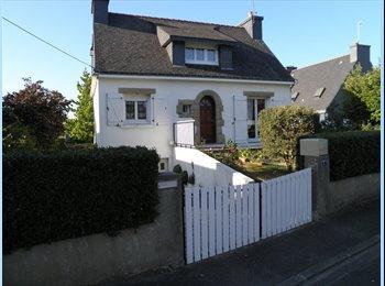 Appartager FR - Maison 150m² habitable, 700m² de terrain - Lanester, Lorient - €450