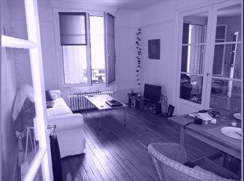 Chambre à louer dans appart 60 m2 à Montmartre