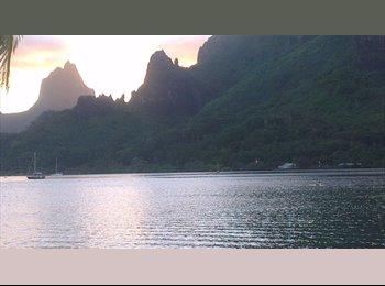 Appartager FR - Votre suite sur la Baie de Cook. Jolie maison - Moorea-Maiao, Polynésie Française - €500