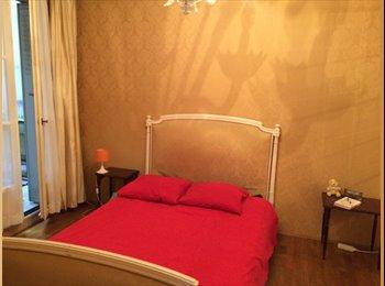 Appartager FR - Grande chambre double avec terrasse - Paris Nation - 20ème Arrondissement, Paris - Ile De France - €750