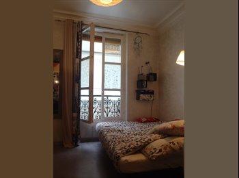 Appartager FR - Loue chambre meublée dans appartement confortable - 10ème Arrondissement, Paris - Ile De France - €625