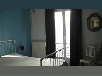 Appartager FR - 2 pièces à louer de 3 à 6 mois maximum Paris 18ème - 18ème Arrondissement, Paris - Ile De France - €650