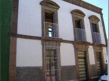 MAGNIFICOS CUARTOS EN EL CENTRO DE SLP INTERNET WiFi,...
