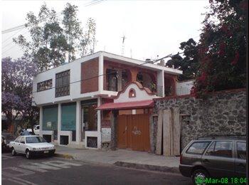 CompartoDepa MX - Habitaciones amuebladas (sólo mujeres) - Coyoacán, DF - MX$2300