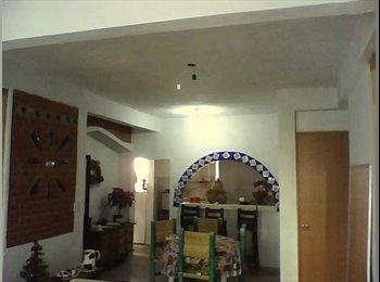 CompartoDepa MX - Habitaciones amuebladas (sólo mujeres) - Coyoacán, DF - MX$1700