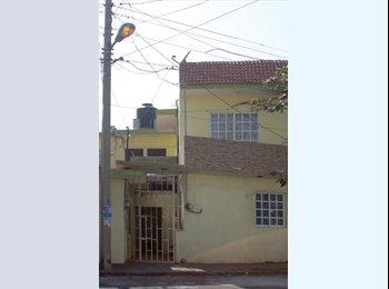 CompartoDepa MX - Cuarto o Recamara independiente Amueblado - Veracruz, Veracruz - MX$2500