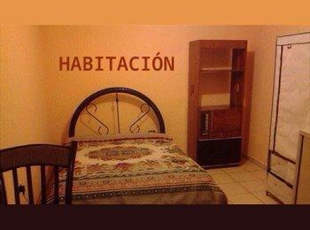 RENTO HABITACION A DOS CALLES UPAEP/ ISU/av juarez