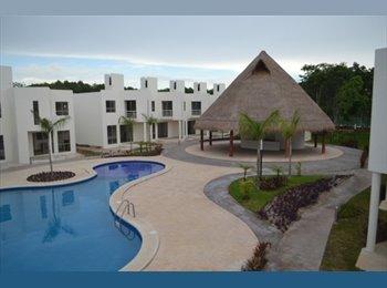 Casa compartida, zona residencial Playa del Carmen