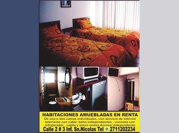 CompartoDepa MX - Habitación amueblada en renta. - Córdoba, Córdoba - MX$1500