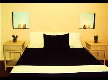 Hermosas habitaciones (2) con baño privado cada una y...